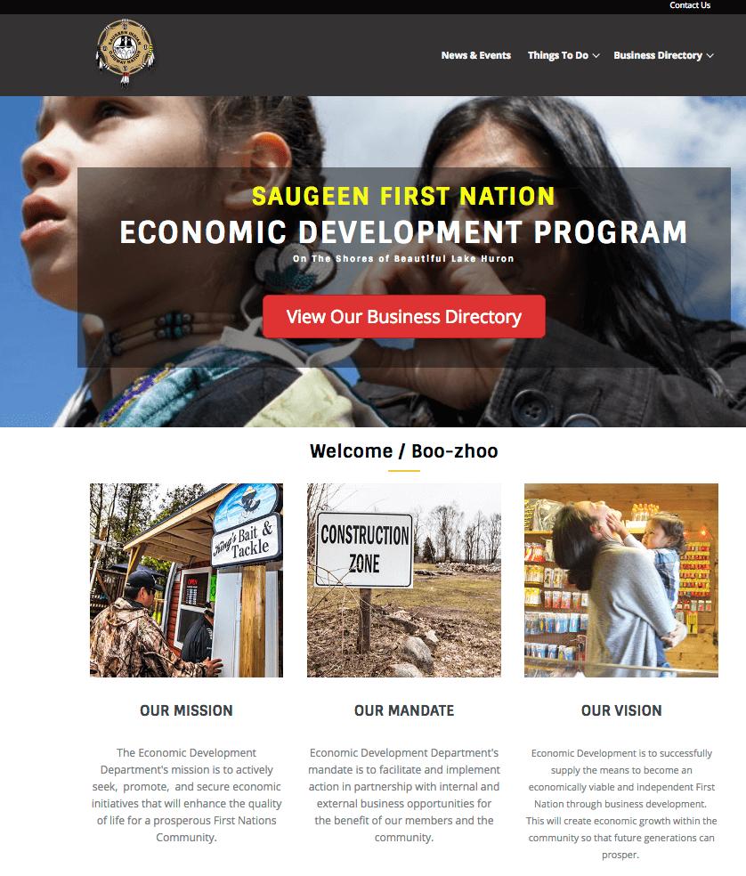 Business - Saugeen First Nations